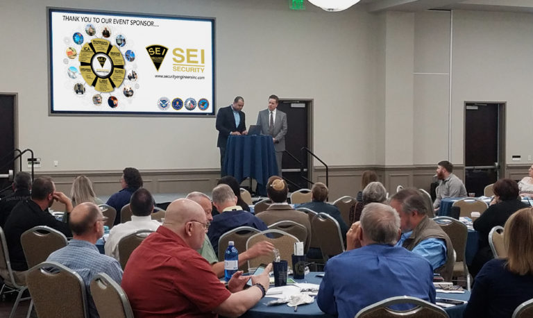Department of Homeland Security speaks at the Security Engineers, Inc. sponsored workshop Protecting Houses of Worship: Active Shooter & Violent Crimes Preparedness