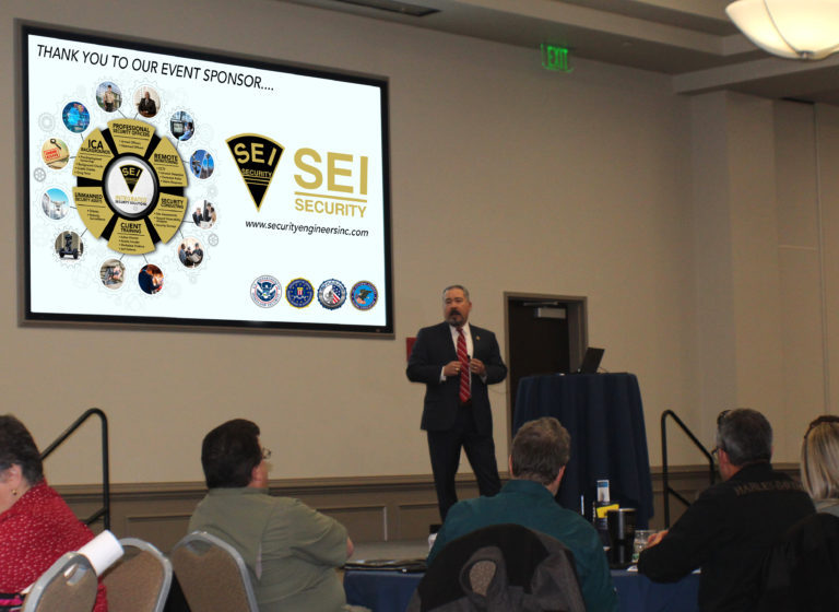 Local FBI agents speak at the Security Engineers, Inc. sponsored workshop Protecting Houses of Worship: Active Shooter & Violent Crimes Preparedness