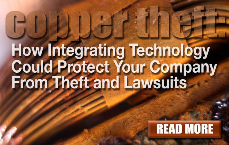 SEI Blog: Copper Theft: How Integrating Technology could protect your company from theft and lawsuits