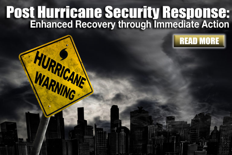 SEI Blog: Post Hurricane Security Response
