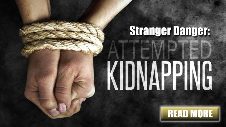 SEI Blog: Stranger Danger: Attempted Kidnapping